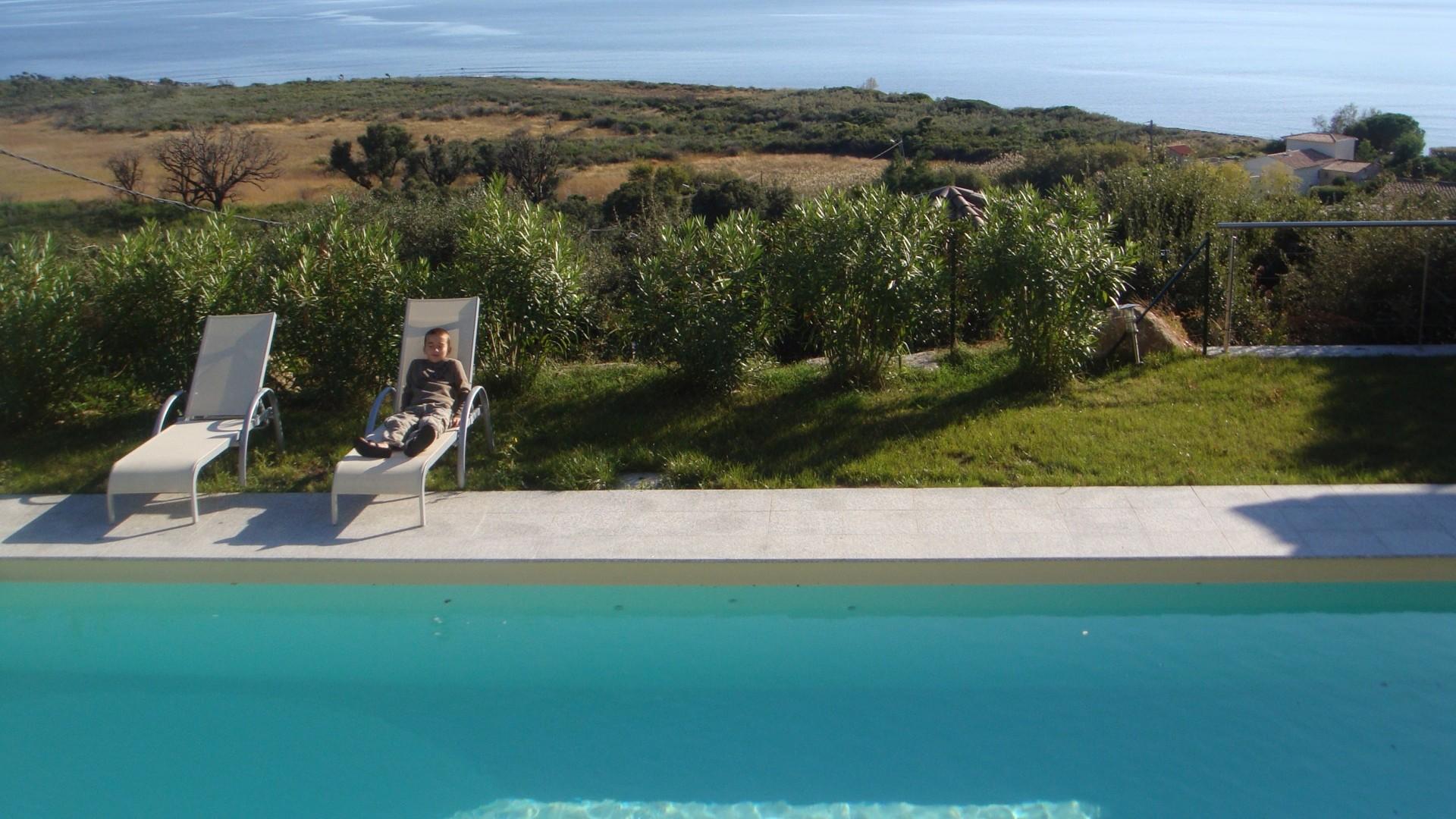 Ferienhaus Süd Korsika, am Strand