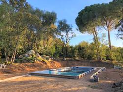 Korsika Ferienhaus Pool Strand