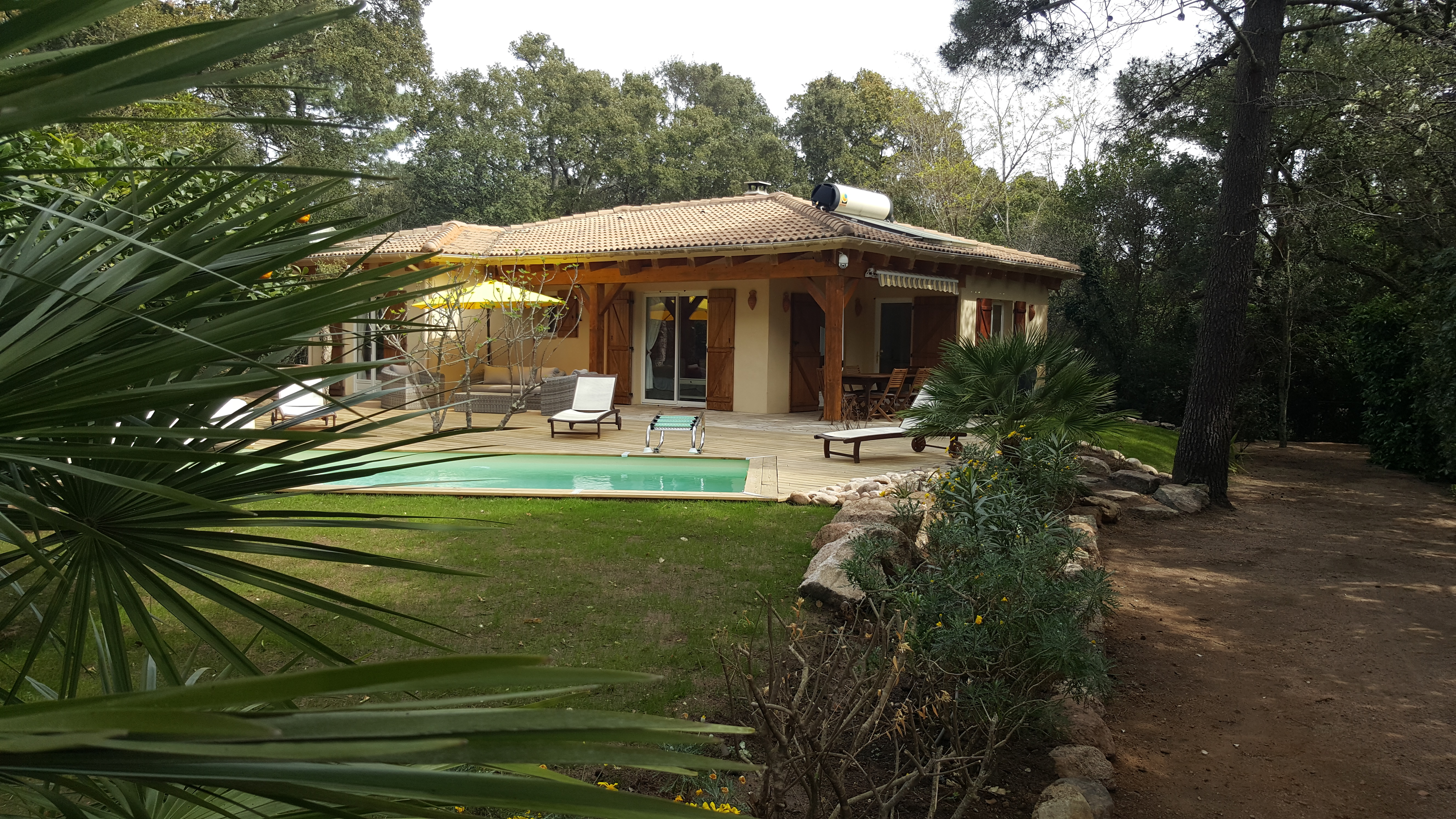 Korsika Haus mit Pool  strandnah