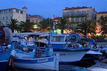 Propriano Hafen Korsika