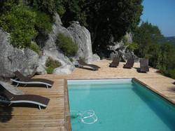 Location Maison avec piscine en Cors