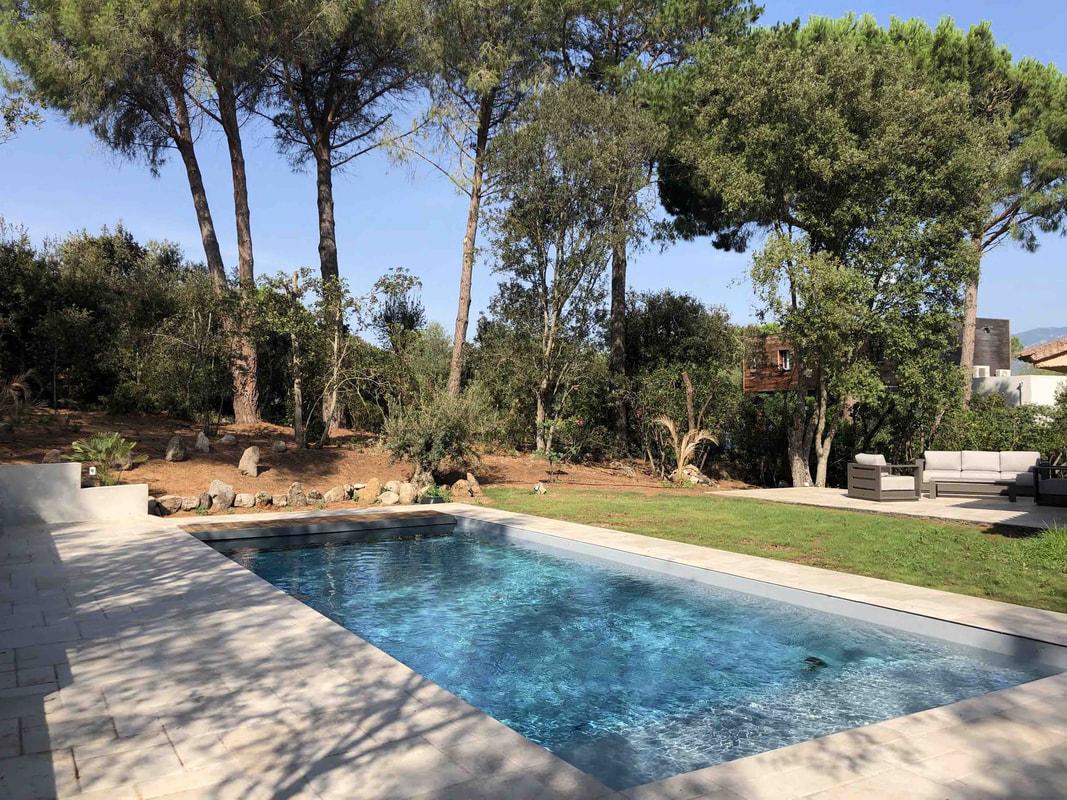 Fewo Korsika mit Pool, strandnah