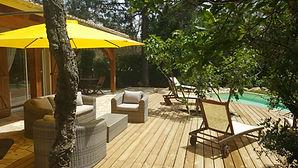 maison de vacances, corse du Sud, piscien privée chuaffée