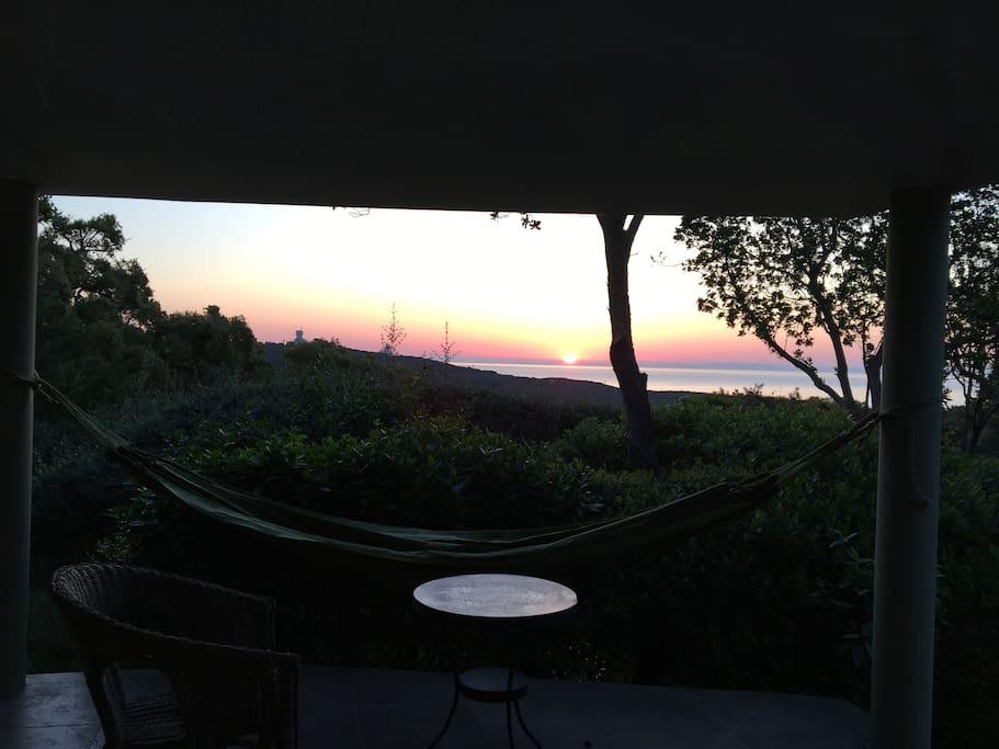 Ferienhaus Korsika mieten , Meerblic