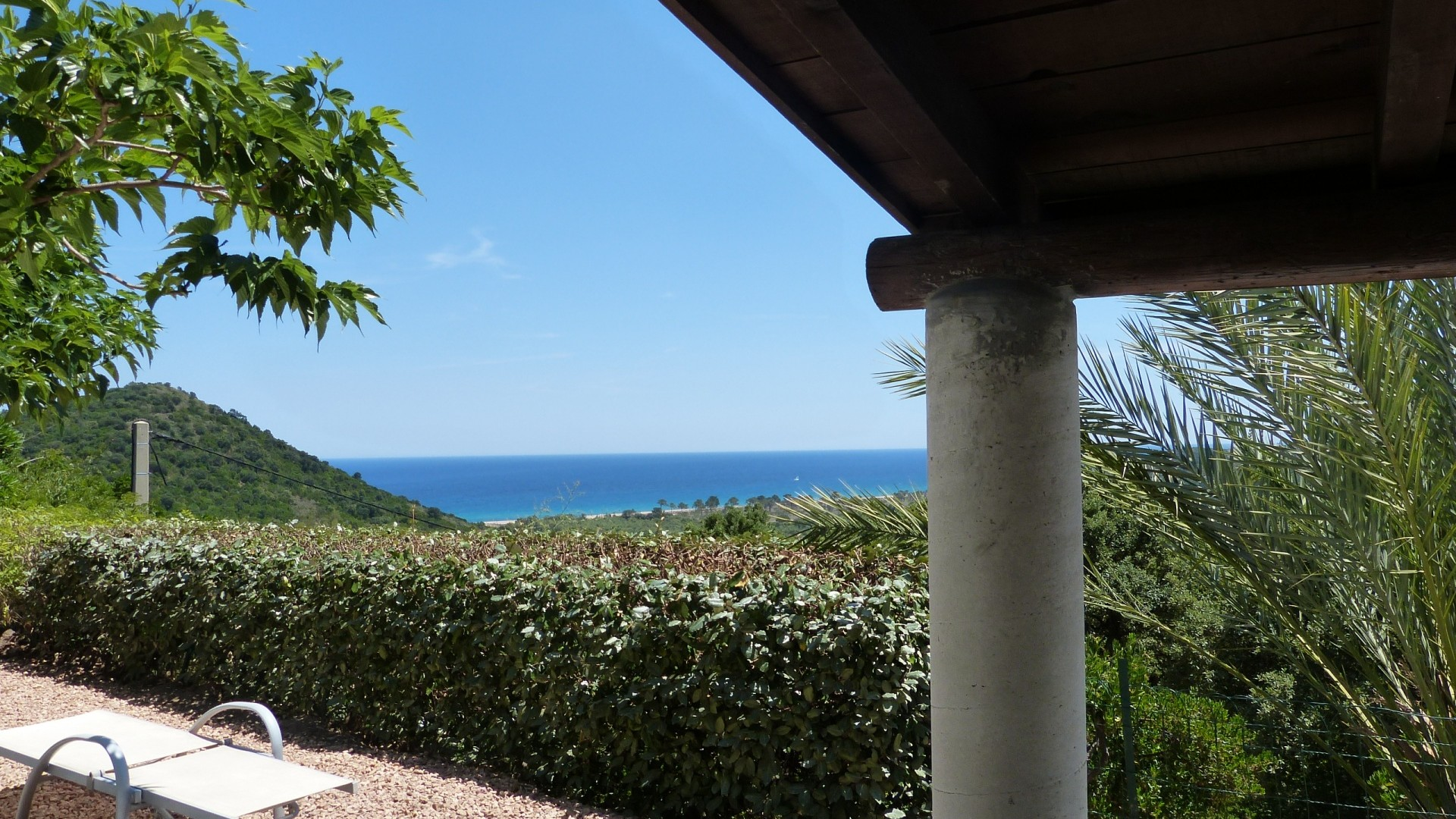 Ferienhaus Korsika , Meerblick