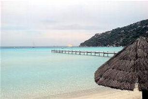 Strand Süd Korsika