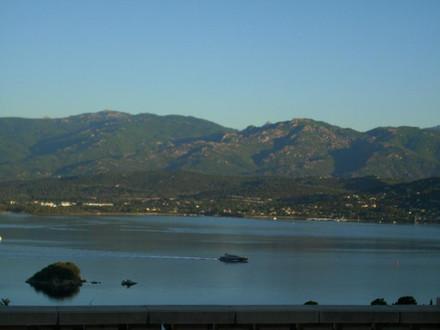 Fewo Korsika , Haus mit Meerblick