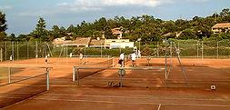 Tennis Spielen Süd Korsika