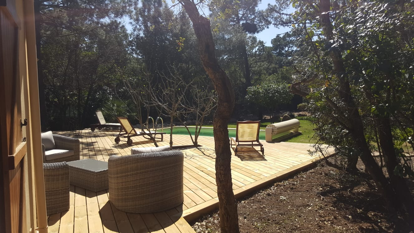 Süd-Korsika , Ferienhaus mit Pool,