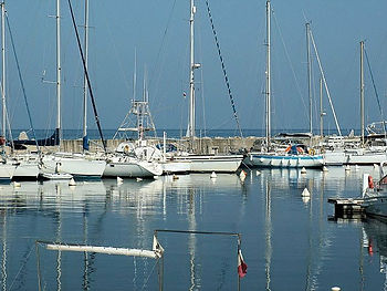 Solenzara Hafen