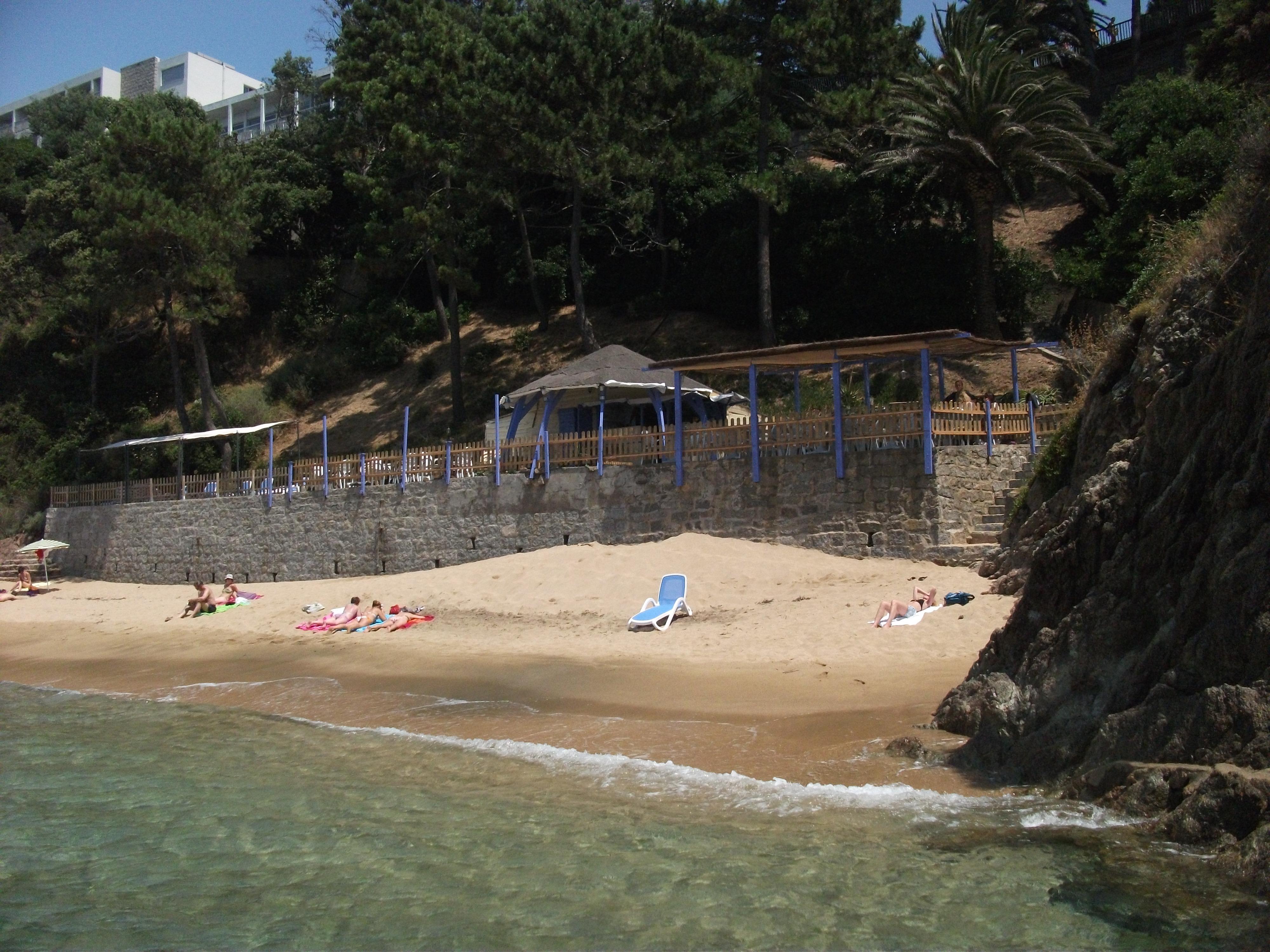 Fewo Korsika, Strand