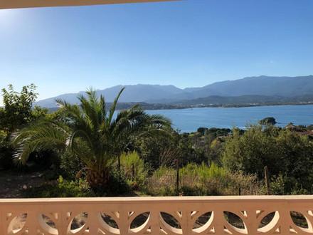 Korsika, Fewo mit Meerblick