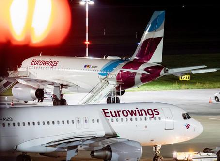 Eurowings filiale de Lufthansa plus frileuse à revenir sur la destination Corse.