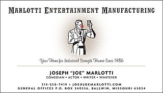 MARLOTTI ENTERTAINMENT_Business Card Art