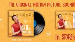 "Banner-OST ""Leif in Concert - Vol. 2"" Photo: Mike Auerbach Graphics: Propaganda B / Lischke&Klandt Filmproduktion"