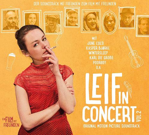 Digital Download, mp3 // Soundtrack // Leif in Concert-Vol.2