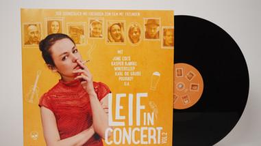 Soundtrack von Leif in Concert  - Vol.2 / Doppel-LP © René Gorski / Lischke&Klandt Filmproduktion