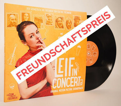 Double-LP // Soundtrack // Leif in Concert - Vol.2 - SUPPORTER-EDITION