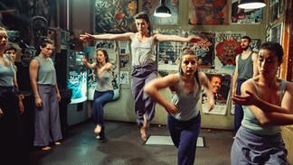 Tanzkompanie Tangente, rightmost: Choreographer Bahar Meric (Leif in Concert - Vol.2) © Mike Auerbach / Lischke&Klandt Filmproduktion