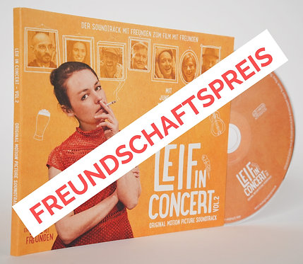 CD // Soundtrack // Leif in Concert - Vol.2 - UNTERSTÜTZER-EDITION