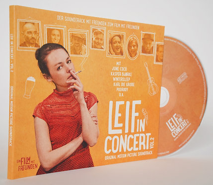 CD // Soundtrack // Leif in Concert - Vol.2