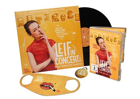 Großes Wohlfühlpaket 1 // DVD + Doppel-LP + Flaschenöffner + Maske