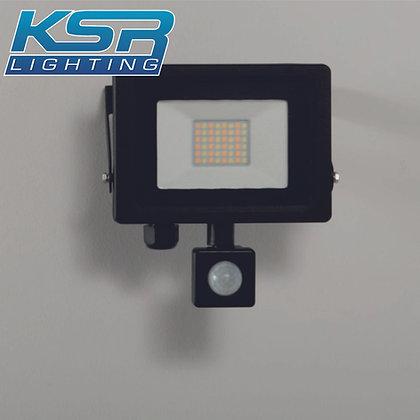 KSR 5283 Siena CCT 20W LED Flood Light C/W PIR