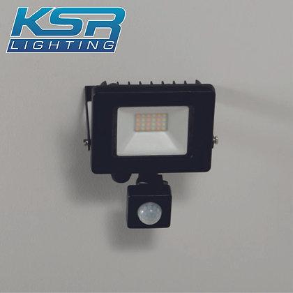 KSR 5281 Siena CCT 10W LED Flood light C/W PIR