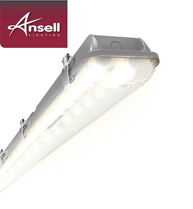 Ansell Tornado 5FT Twin 58W LED IP65 Non-Corrosive Fitting