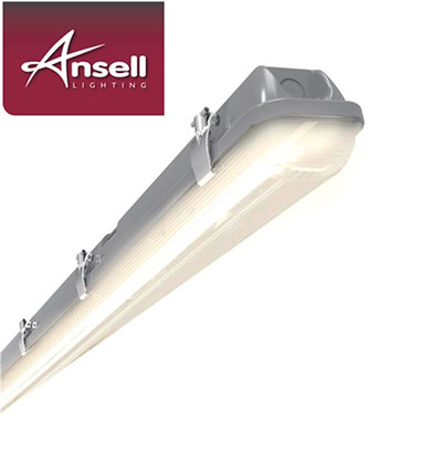 Ansell Tornado 4FT Single 20W LED IP65 Non-Corrosive Fitting