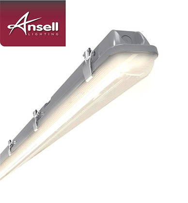 Ansell Tornado 5FT Single 28W LED IP65 Non-Corrosive Fitting