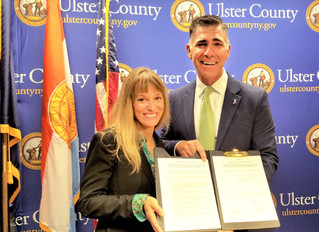 Ulster County leads the way