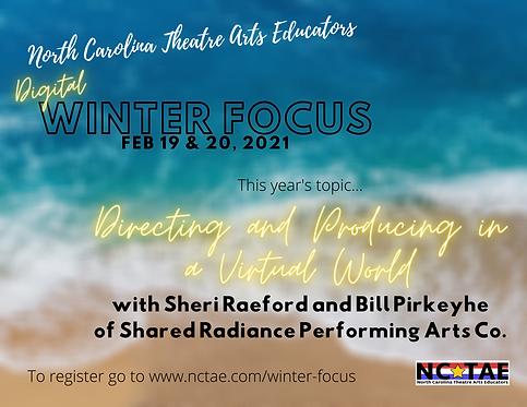 Virtual Winter Focus Early Registration