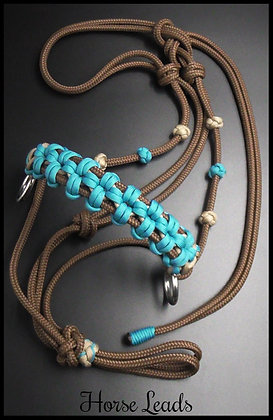 Braided Side Pull Rope Halter