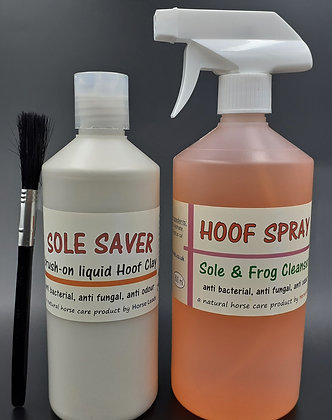 Sole Saver & Hoof Spray Combo