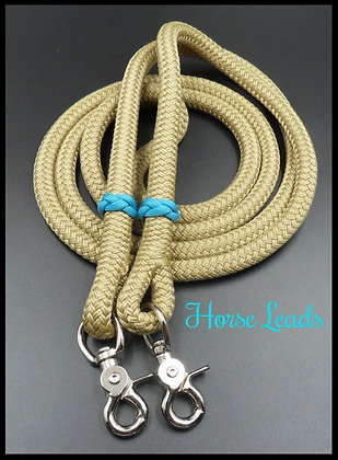 12mm Braided Rope Reins