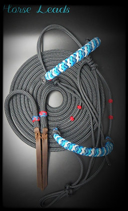 Mecate Reins and Braided Halter