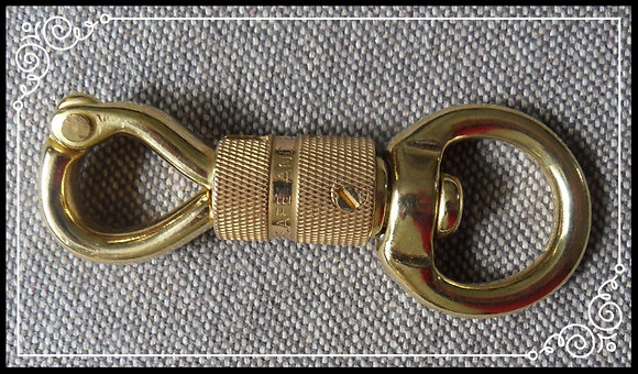 Spare Safety Swivel Solid Brass Snap