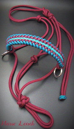 Braided Side Pull Rope Halter