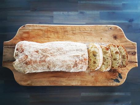 Cold Fermented Ciabatta