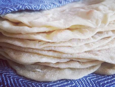 Tortillas/Wraps (with Sourdough discard)
