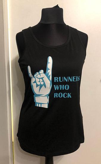 Ladies Running Vest - Single Logo