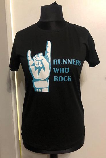 Ladies Running T-Shirt - Single Logo