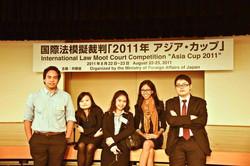 ILMCC UPH Asia Cup Team 2011