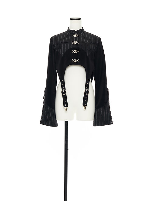 TANRAN short jacket Black