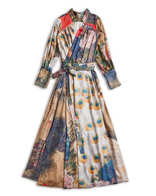 KINAGASHI Dress - Jakuchu Ito -