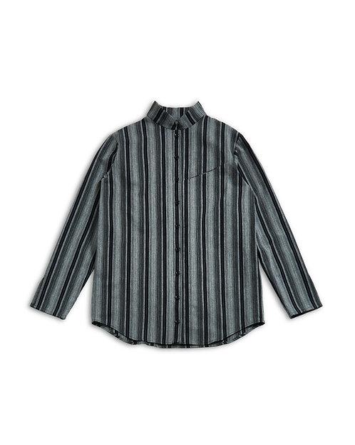 KAMEDAJIMA Stand collar Shirt Black