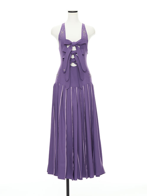 After school jumper dress Purple