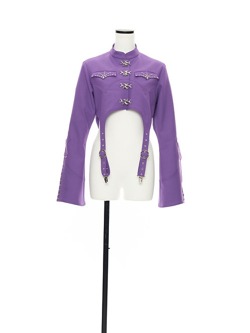 TANRAN short jacket Purple