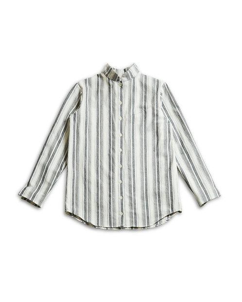 KAMEDAJIMA Stand collar Shirt White